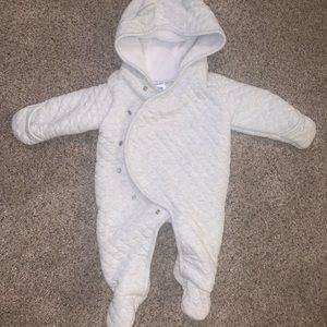 Carters Infant Winter Onesie 3 Months